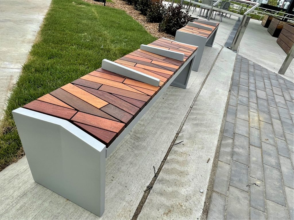 Benches at the Town Center
